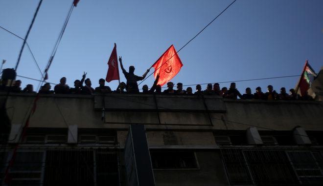Παλαιστίνιοι διαδηλωτές (ΦΩΤΟ Αρχείου)