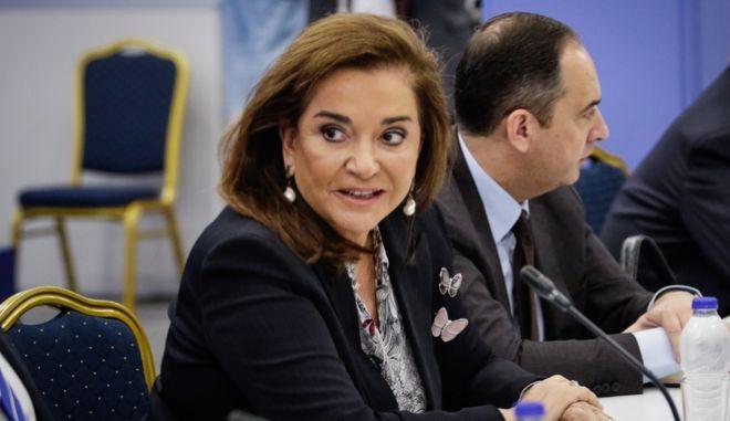 Η βουλευτής της Νέας Δημοκρατίας, Ντόρα Μπακογιάννη