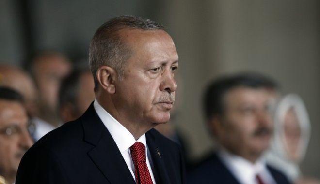 Ο πρόεδρος της Τουρκίας Ταγίπ Ερντογάν