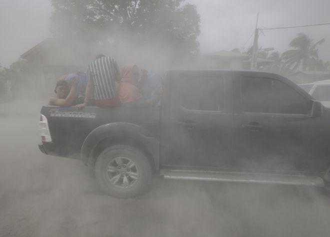 Ξύπνημα ηφαιστείου Τάαλ, Φιλιππίνες