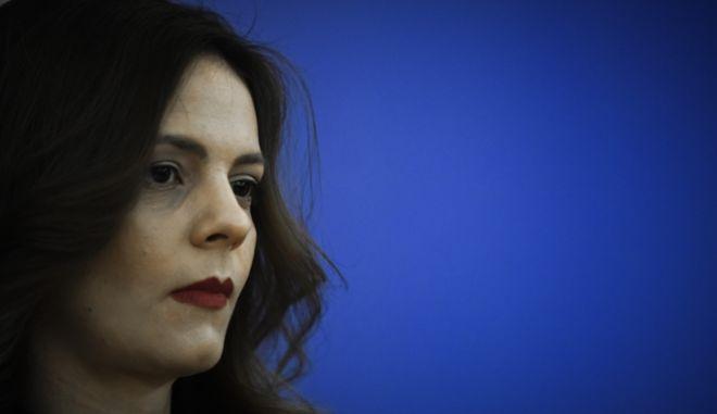 Η υπουργός εργασίας Έφη Αχτσιόγλου