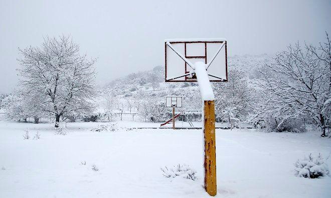 Φωτό αρχείου: Χιόνια στην Αττική