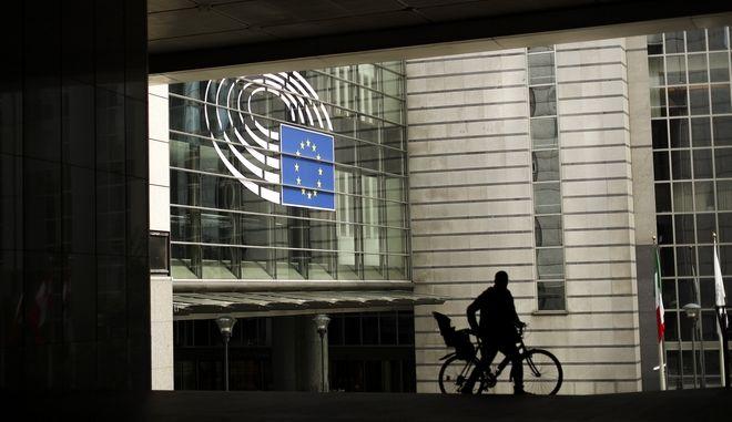 Εξωτερική άποψη του ευρωκοινοβουλίου στις Βρυξέλλες