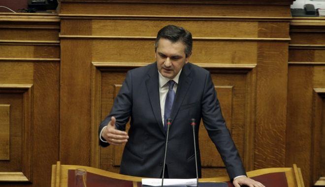 Ο βουλευτής της ΝΔ Γιώργος Κασαπίδης