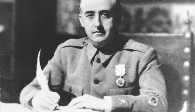 O στρατηγός Φράνκο στα χρόνια του ισπανικού εμφυλίου