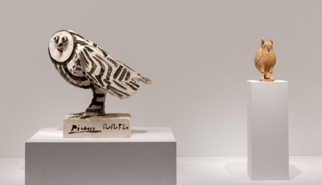 """""""Πικάσο και Αρχαιότητα. Γραμμή και Πηλός"""" στο Μουσείο Κυκλαδικής Τέχνης"""