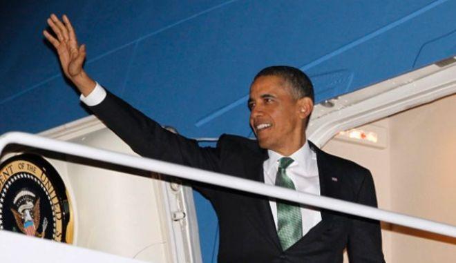 Αναχώρησε για το Ισραήλ ο Ομπάμα