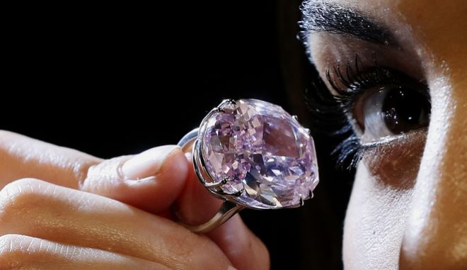 Στο σφυρί το διαμάντι 'Pink Star'