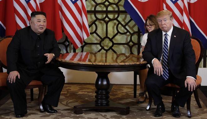 Συνάντηση Ντόναλντ Τραμπ και Κιμ Γιονγκ Ουν στο Ανόι