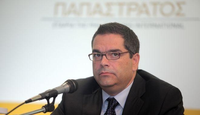 Ο Ι.Καργαρώτος,  Αντιπρόεδρος της Παπαστράτος