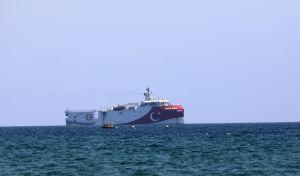 Το τουρκικό ερευνητικό πλοίο Oruc Reis στη Μεσόγειο