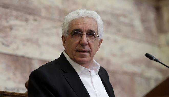 Ο Νίκος Παρασκευόπουλος.