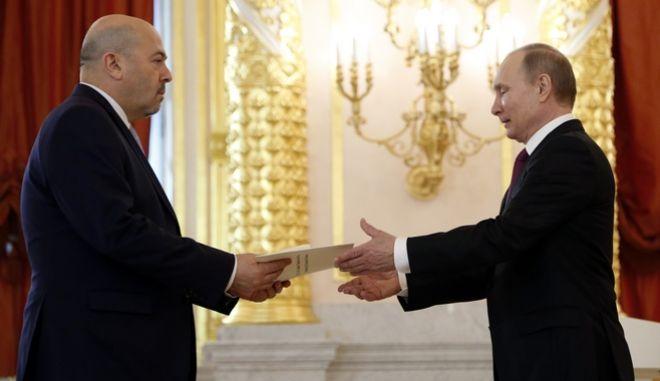 Το Κρεμλίνο κάλεσε τον Ισραηλινό πρέσβη για εξηγήσεις σχετικά με την επίθεση στην Παλμύρα