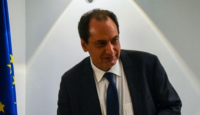 Ο υπουργός Μεταφορών,Υποδομών και Δικτύων Χρήστος Σπίρτζης