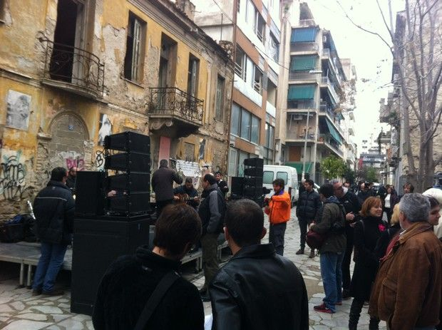 Ενεργοί πολίτες φωτίζουν την οδό Ιάσονος και δίνουν ζωή στα