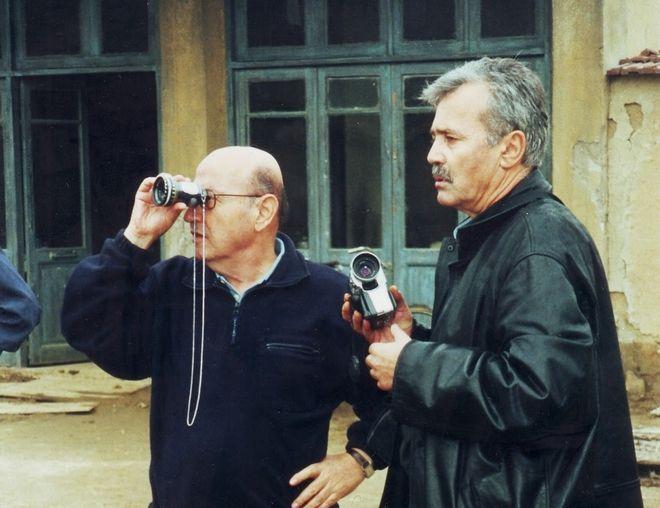 Ο Θ. Αγγελόπουλος μαζί με τον Ανδρέα Σινάνο