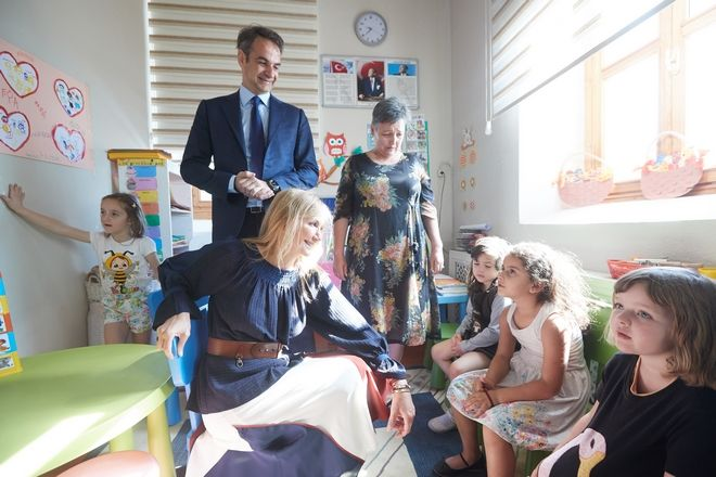 Επίσκεψη του προέδρου της ΝΔ Κυριάκου Μητσοτάκη στην Ίμβρο