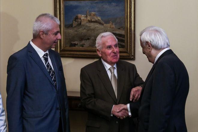 Συνάντηση του Προέδρου της Δημοκρατίας Προκόπη Παυλόπουλου με την Ανώτατη Συνομοσπονδία Πολυτέκνων Ελλάδος