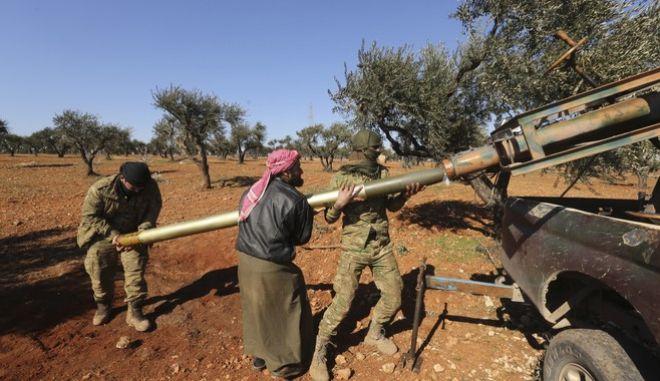 Πολεμιστές στη Συρία