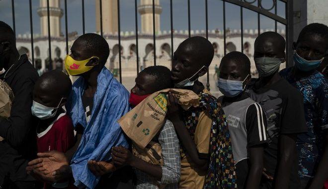 Μετανάστες στη Σενεγάλη