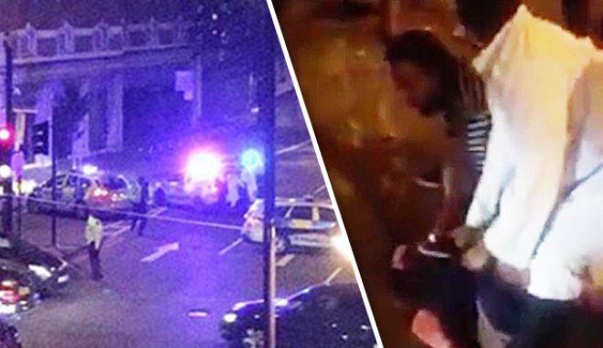 Ντοκουμέντο: Η στιγμή που μουσουλμάνοι σταματούν τον δράστη στο Λονδίνο