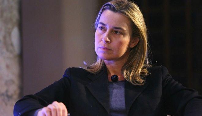 Μογκερίνι: Η Ε.Ε φέρει 'ιδιαίτερη ευθύνη' για τη μεταναστευτική κρίση στη Μεσόγειο