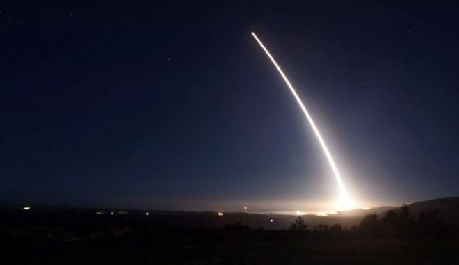 Δοκιμή διηπειρωτικού βαλλιστικού πυραύλου