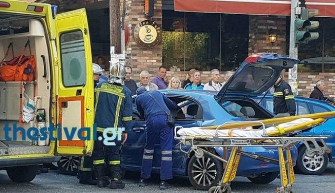 Θεσσαλονίκη: Οδηγός παρέσυρε και σκότωσε γυναίκα στο Κορδελιό