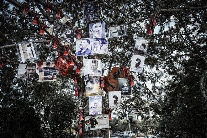 Κόσμος τιμά τον Παντελή Παντελίδη κάθε χρόνο στο μνημόσυνό του