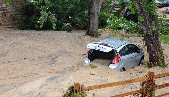Πλημμύρες στο Μέριλαντ των ΗΠΑ