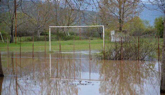 Πλημμύρες στη Λάρισα