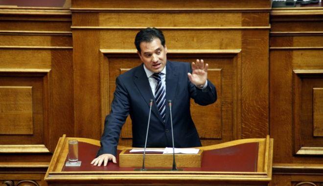 Συζήτηση επίκαιρων ερωτήσεων στη Βουλή την Πέμπτη 20 Σεπτεμβρίου 2012.  (EUROKINISSI/ΓΙΩΡΓΟΣ ΚΟΝΤΑΡΙΝΗΣ)