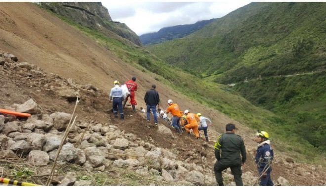 Κολομβία: Δεκατρείς νεκροί από κατολίσθηση βράχων