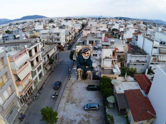 Βόλος: Η σκληρή ζωή σε μια υπέροχη τοιχογραφία