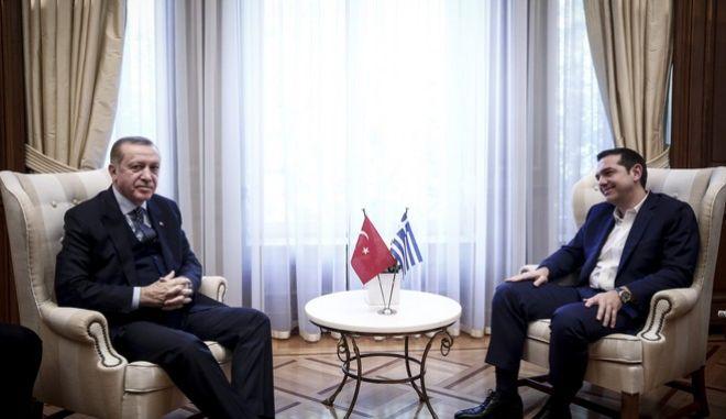 Κοινές δηλώσεις Τσίπρα-Ερντογάν