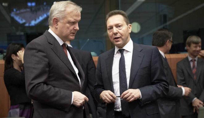 Συνεδρίαση του Eurogroup στις Βρυξέλλες την Δευτέρα 27 Ιανουαρίου 2014. (EUROKINISSI/ΣΥΜΒΟΥΛΙΟ ΤΗΣ Ε.Ε.)