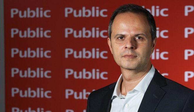 O Διευθύνων Σύμβουλος των Public, Χρήστος Καλογεράκης