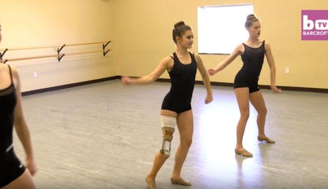 Η Gabi Shull νίκησε τον καρκίνο και έγινε η υπέροχη μπαλαρίνα με το τεχνητό πόδι