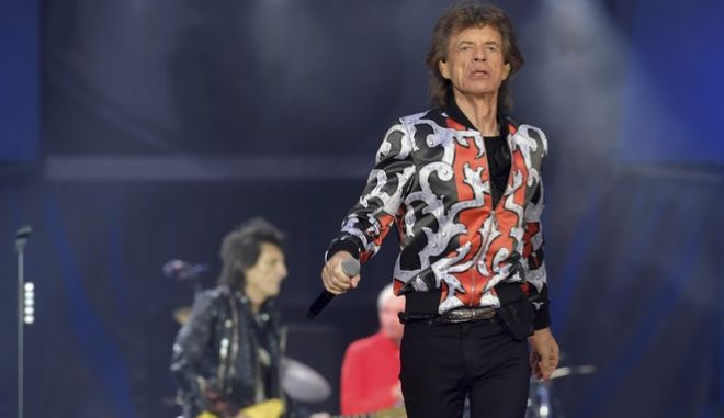 Ο frontman των Rolling Stones, Μικ Τζάγκερ