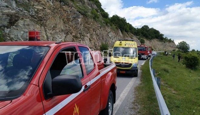 Τραγωδία στην Καστανιά: Αυτοκίνητο έπεσε από γκρεμό - Ένας νεκρός