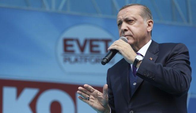 Ερντογάν: Καμία πρόθεση για ομοσπονδιακό κράτος στην Τουρκία