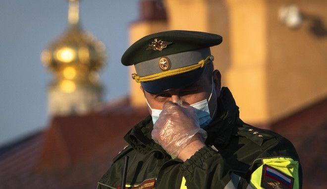 Αστυνομικός στη Ρωσία