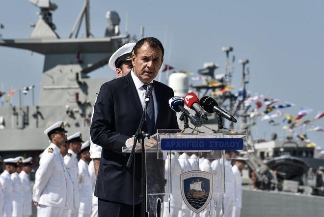 Τελετή ονοματοδοσίας και ένταξης στο Πολεμικό Ναυτικό του ΤΜΚ