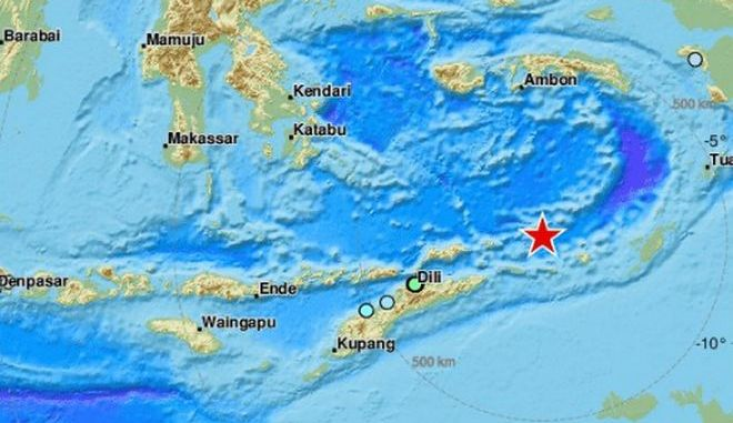 Σεισμός 6,3 Ρίχτερ ανοιχτά της Ινδονησίας