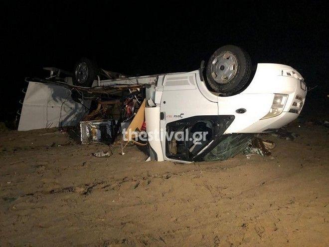Κακοκαιρία στη Χαλκιδική: Σοκαριστικές εικόνες από το τροχόσπιτο με το νεκρό ζευγάρι