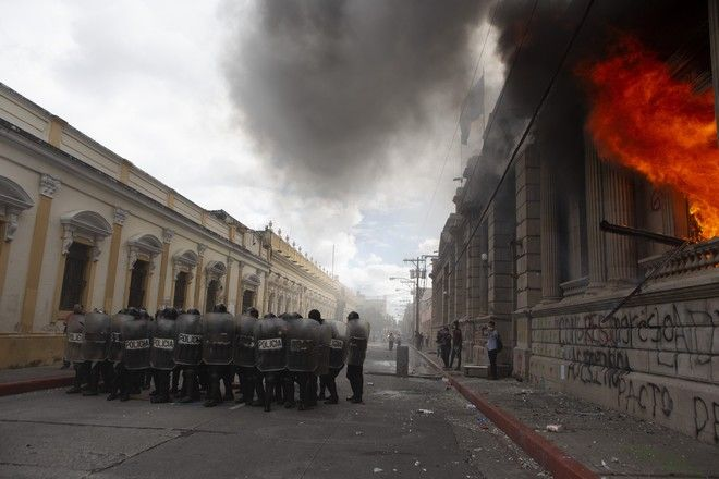 Διαδηλώσεις στη Γουατεμάλα