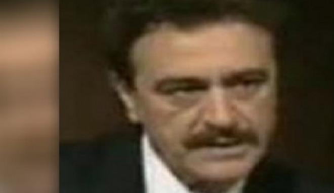 Πέθανε ο ηθοποιός Γιώργος Χαδίνης