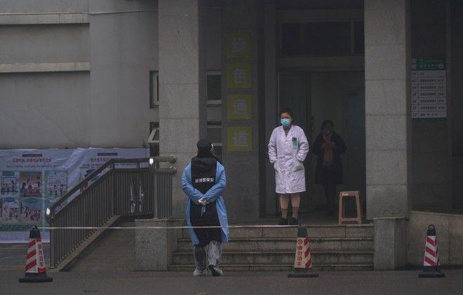 Στιγμιότυπο από νοσοκομείο της Ουχάν