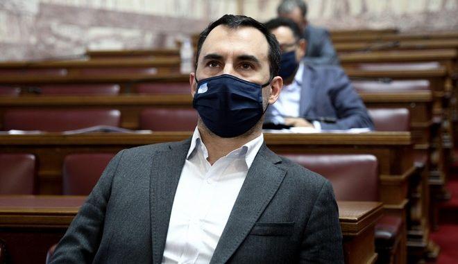 Ο βουλευτής του ΣΥΡΙΖΑ Αλέξης Χαρίτσης