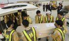 Υποδοχή νεκρών από την τραγωδία στο Έσσεξ, Βιετνάμ